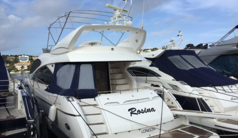 SUNSEEKER MANHATTAN 60 2008 MODEL